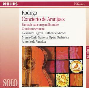 Rodrigo: Concierto de Aranjuez; Fantasía para un gentilhombre; Concierto serenata album