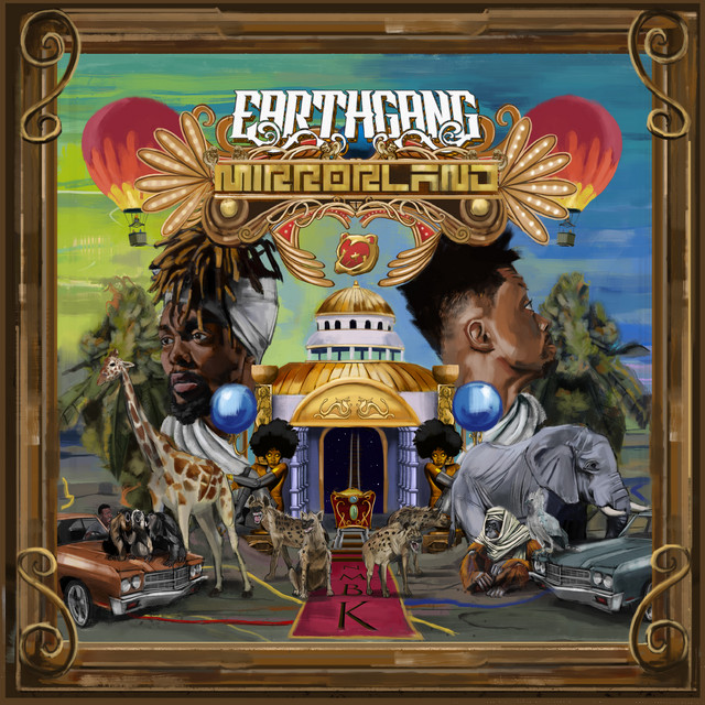 Album cover for Mirrorland by EARTHGANG