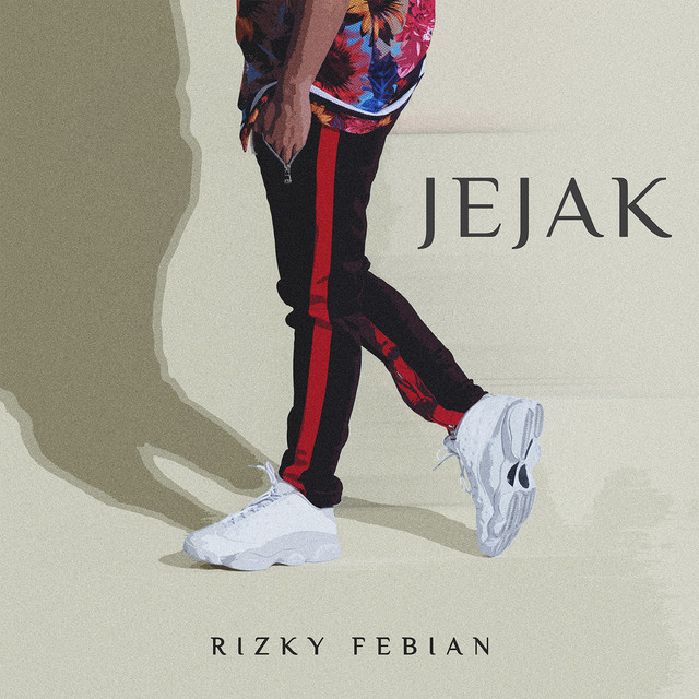 Album cover for Jejak by Rizky Febian