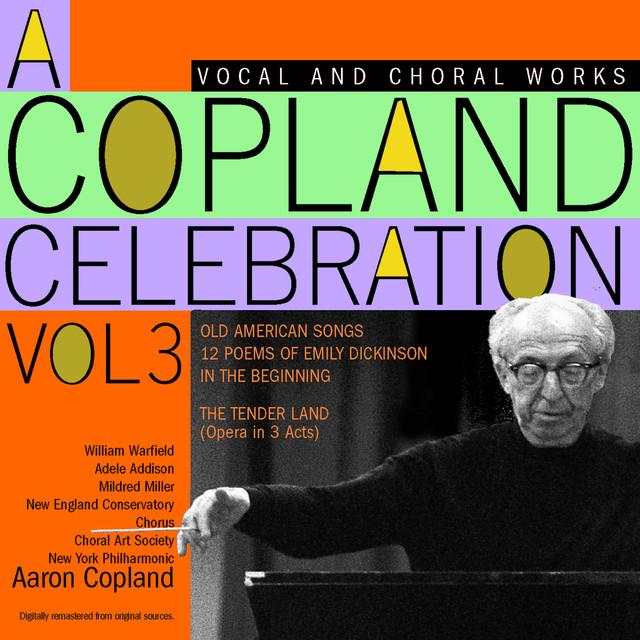 A Copland Celebration, Vol. III Albumcover