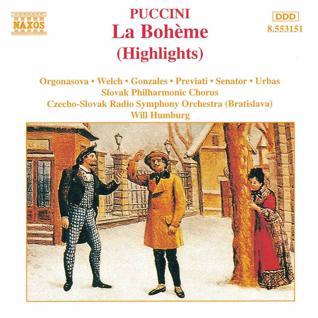 Puccini: La Bohème (Highlights)
