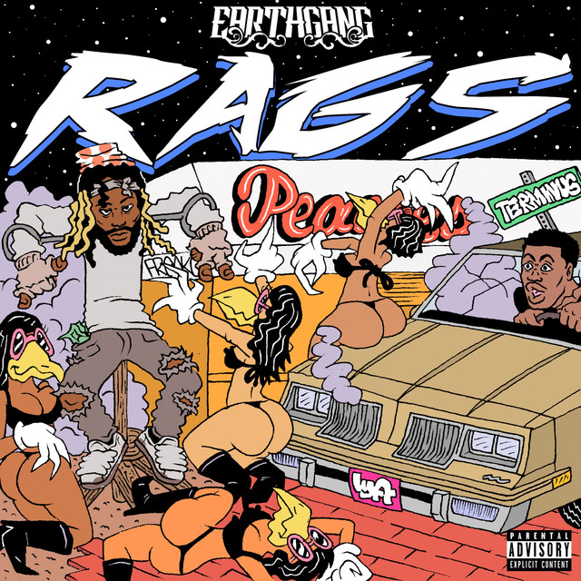 Album cover for Rags - EP by EARTHGANG