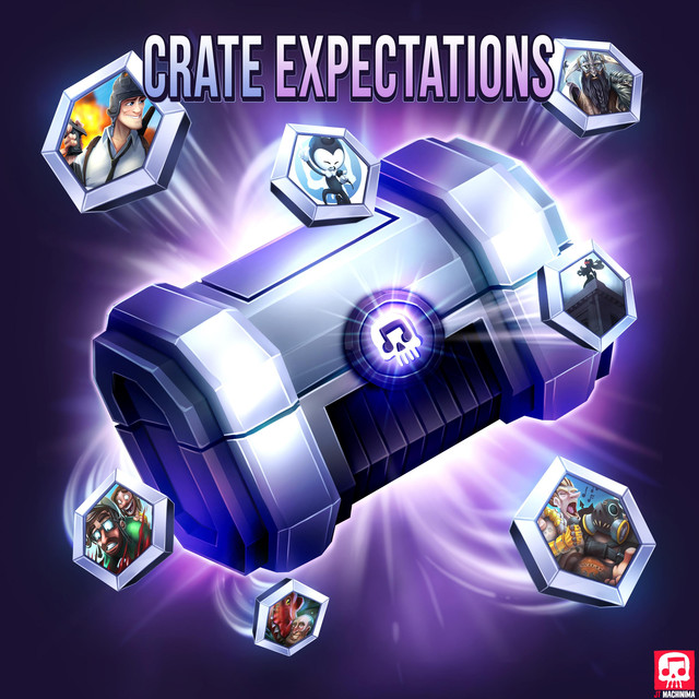 Album cover for Crate Expectations by J.T. Machinima