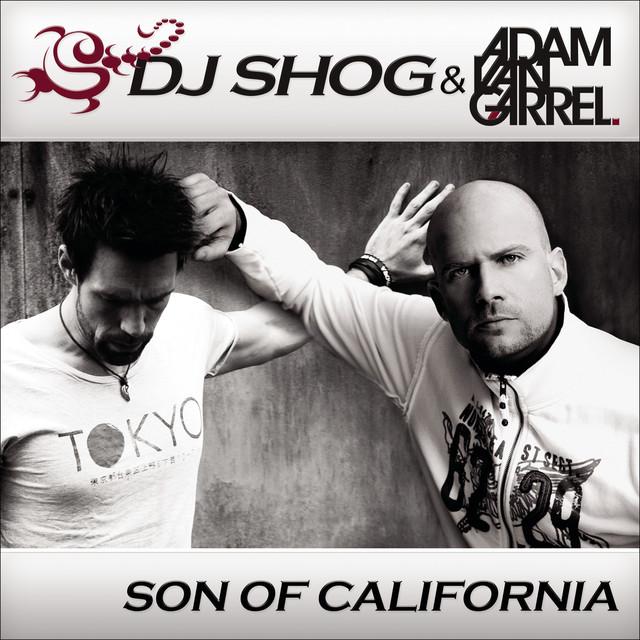 DJ Shog, Adam van Garrel Son Of California album cover