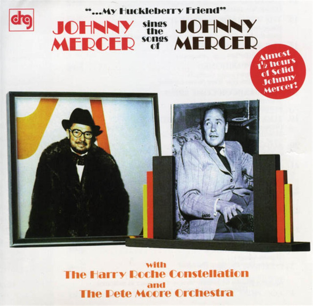Johnny Mercer My Huckleberry Friend album cover
