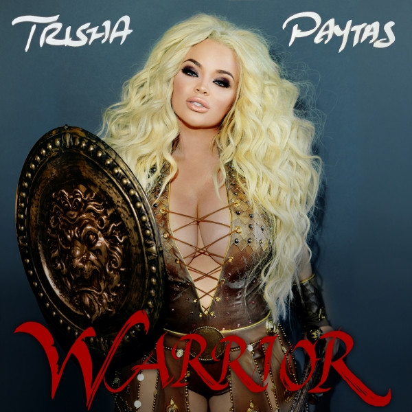 Album cover for Warrior by Trisha Paytas