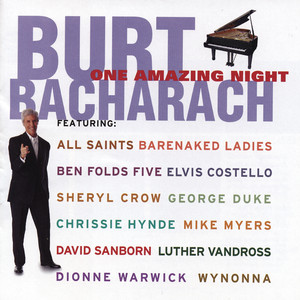 Burt Bacharach, Dionne Warwick Walk On By cover