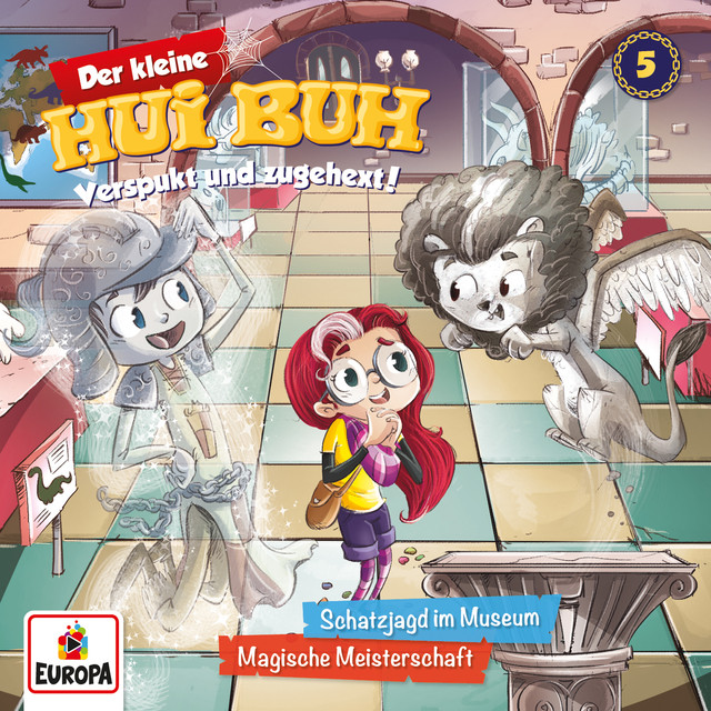 005 - Schatzjagd im Museum  -  Magische Meisterschaft Cover