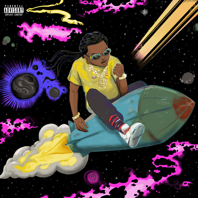 Album cover for The Last Rocket by Takeoff