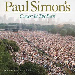 Paul Simon's Concert In The Park August 15, 1991 Albumcover