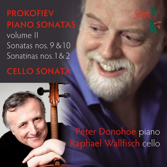 Prokofiev: Piano Sonatas Volume II Albumcover