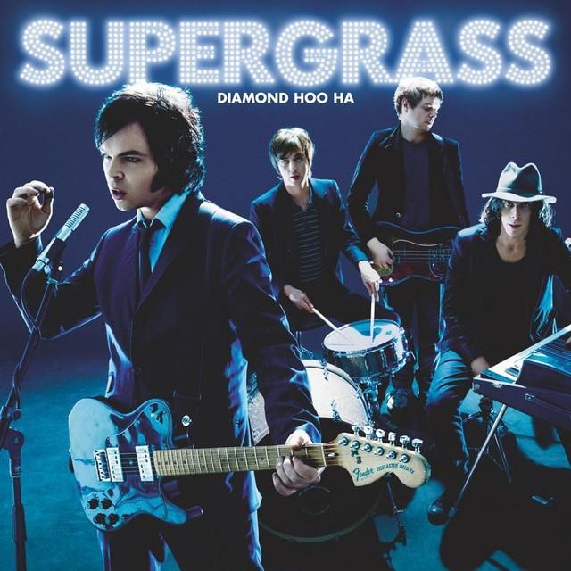 Album cover for Diamond Hoo Ha by Supergrass