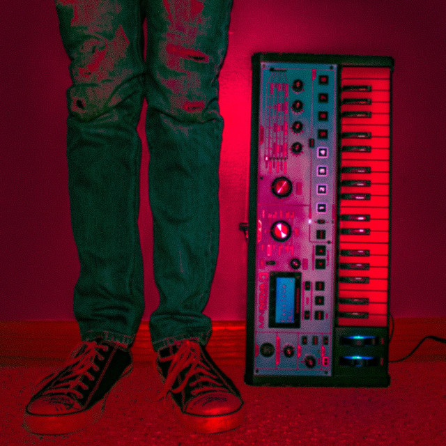 Album cover for Monochrome by Cameron Richmond