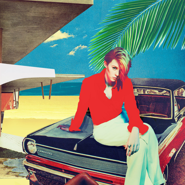 Album cover for Trouble In Paradise by La Roux