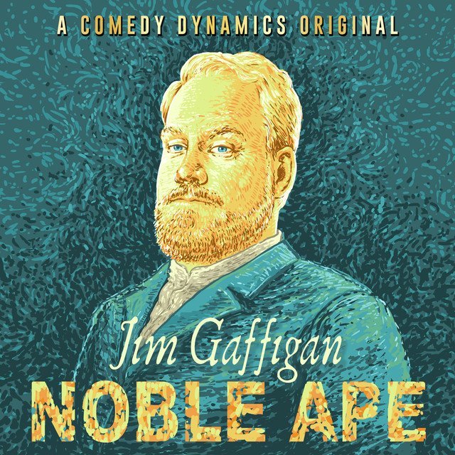 Album cover for Noble Ape by Jim Gaffigan