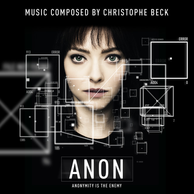 Album cover for Anon (Original Motion Picture Soundtrack) by Christophe Beck