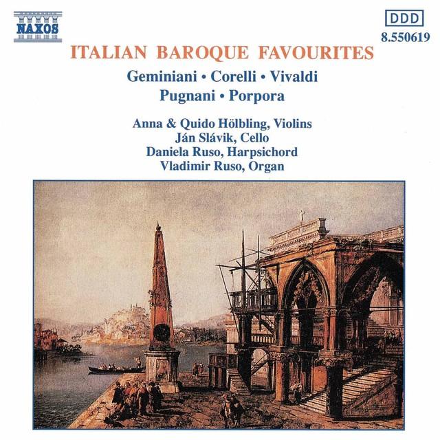 Italian Baroque Favourites Albumcover