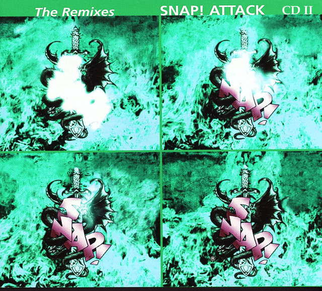 Snap! Attack - The Remixes (Part 2) album cover