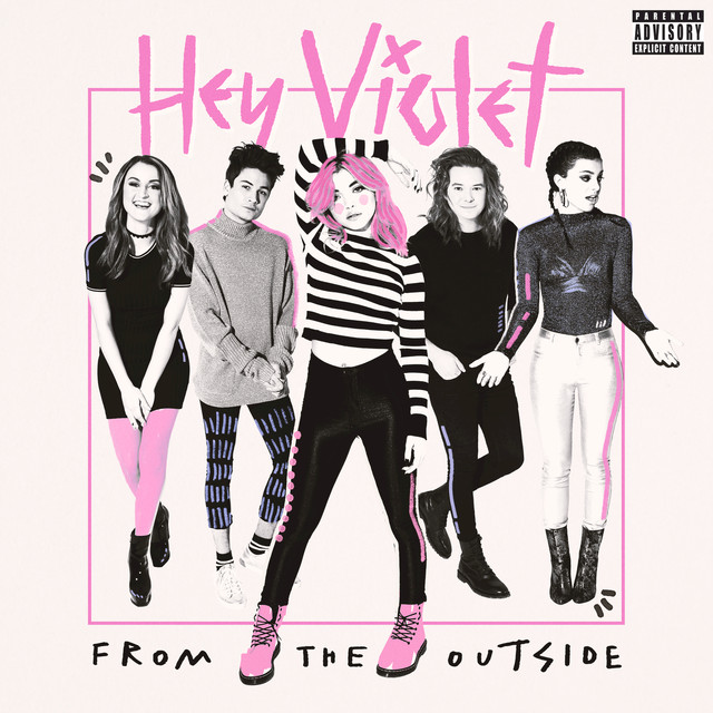 Hey Violet From The Outside album cover
