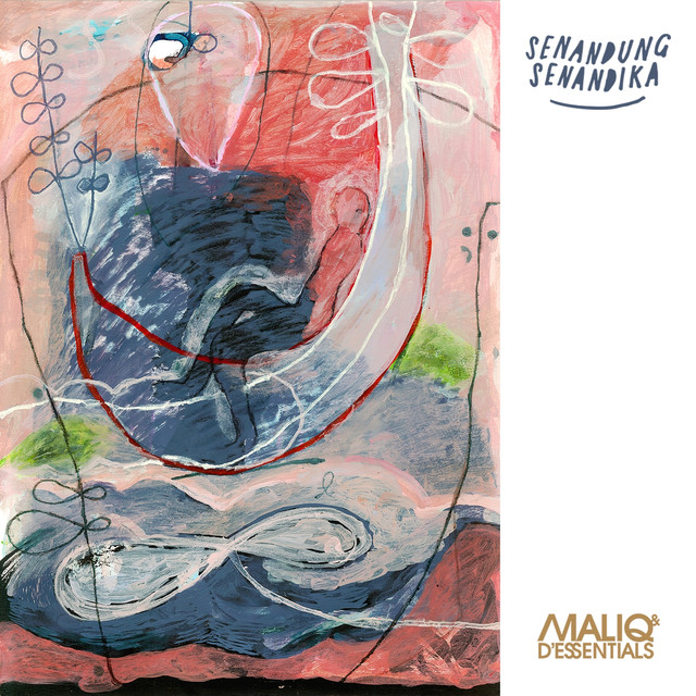 Album cover for Senandung Senandika by Maliq & d'Essentials
