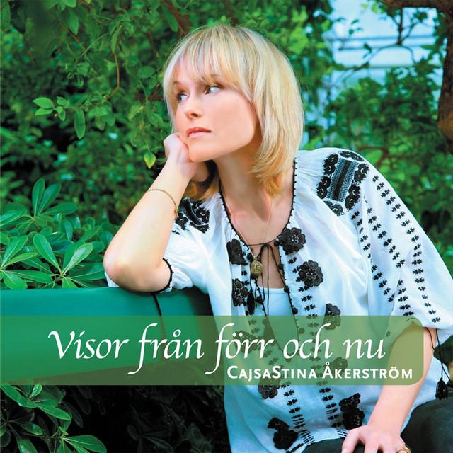 Skivomslag för CajsaStina Åkerström: Visor Från Förr Och Nu