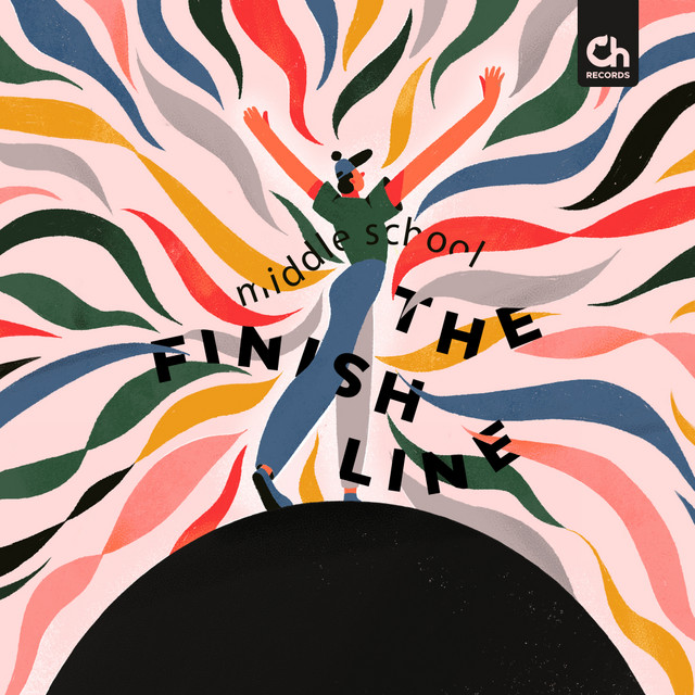 Album cover for The Finish Line by Middle School