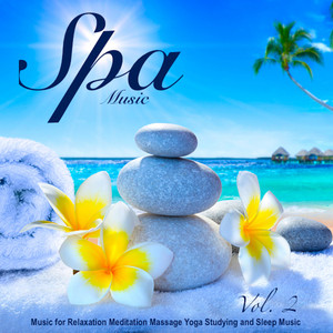 Spa Music - Music for Relaxation Meditation Massage Yoga Studying and Sleep Music, Vol. 2 Albumcover