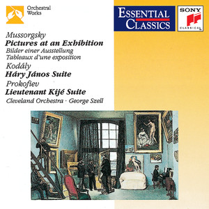 Pictures at an Exhibition; Kodály: Hary János Suite; Prokofiev: Lieutenant Kijé Suite Albumcover