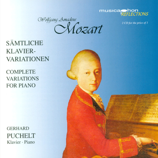 Mozart, W.A.: Variations for Piano (Complete) Albumcover