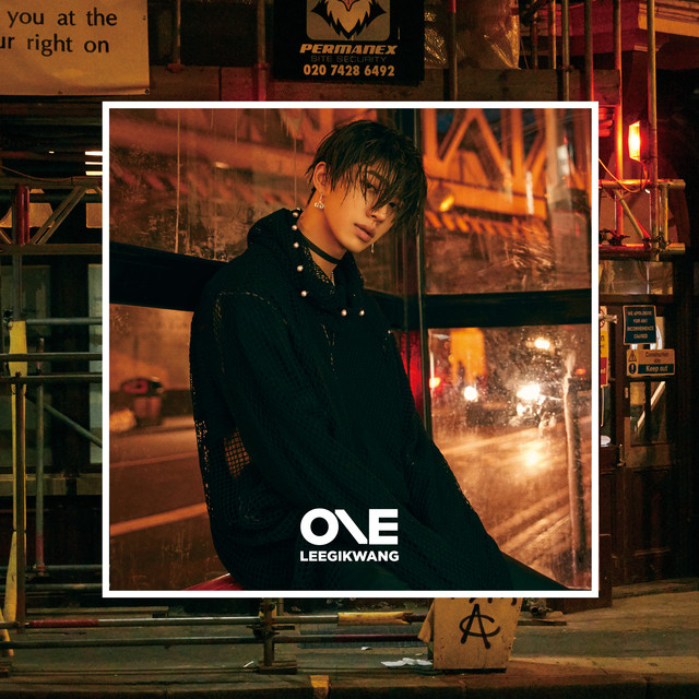 Album cover for LEEGIKWANG 1ST MINI ALBUM 'ONE' by LEEGIKWANG