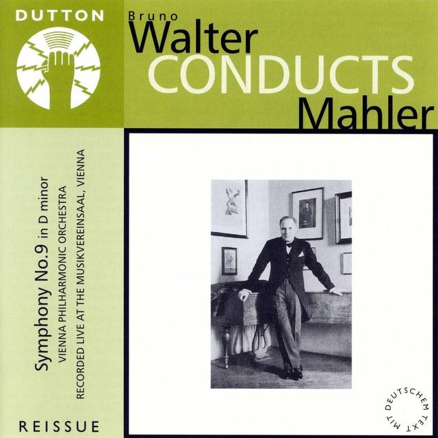 Mahler: Symphony No. 9 Albumcover