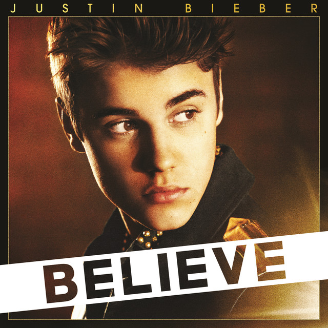 Justin Bieber Believe (Deluxe Edition) album cover