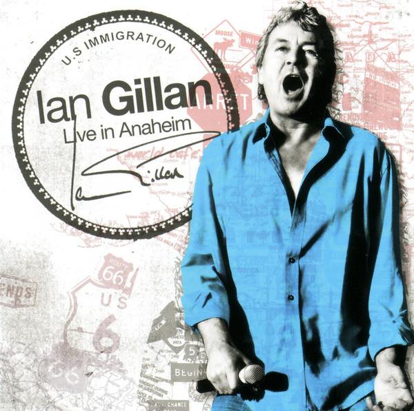 Ian Gillan Live in Anaheim album cover