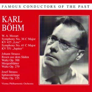 Famous conductors of the past - Karl Böhm Albumcover