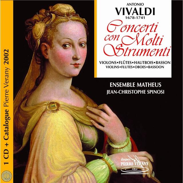 Vivaldi : Catalogue Vérany classique 2002 - Concerti con molti strumenti, vol.2 Albumcover