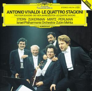Vivaldi: Le quattro stagioni Albumcover