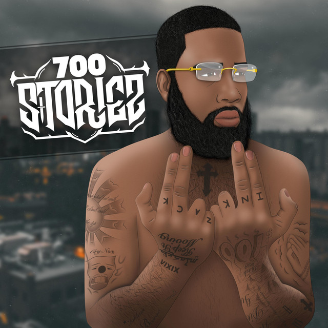 Album cover for 700stories by Zack Ink