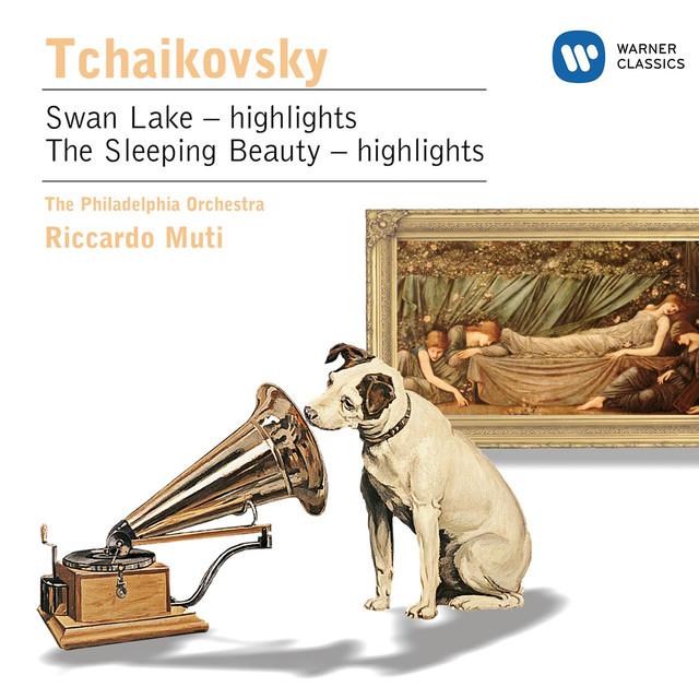 Tschaikowsky: Der Schwanensee/Dornröschen - Suiten Albumcover