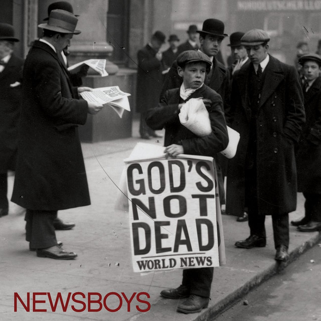 God's Not Dead (Like a Lion) cover