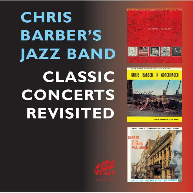 Chris Barber's Jazz Band Classic Concerts album cover