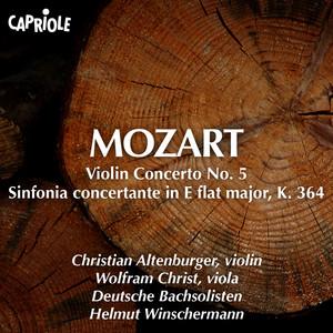 """Mozart, W.A.: Violin Concerto No. 5, """"Turkish"""" / Sinfonia Concertante, K. 364 Albümü"""
