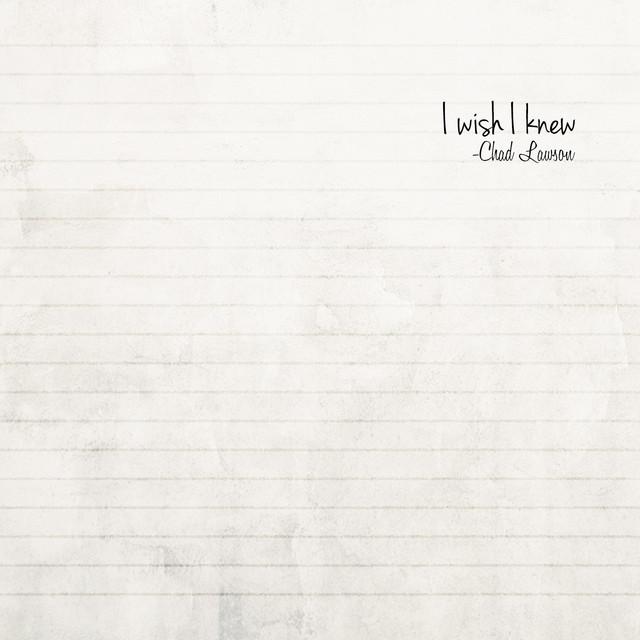 I Wish I Knew - Single