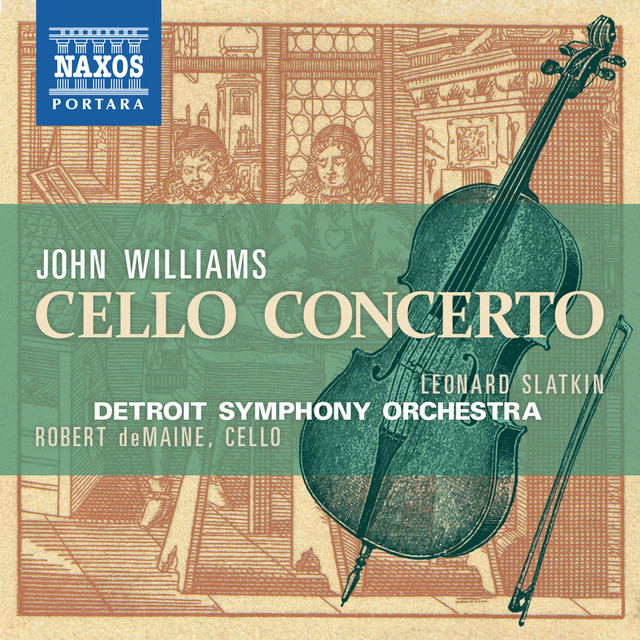 Williams: Cello Concerto Albumcover