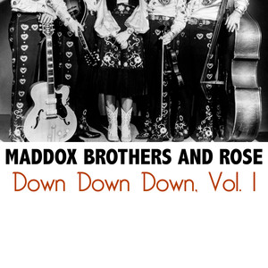 The Maddox Brothers & Rose Dark As The Dungeon cover