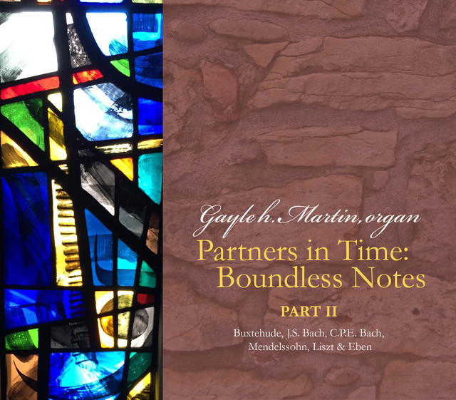 Album cover for Partners in Time, Pt. 2: Boundless Notes by Gayle h. Martin