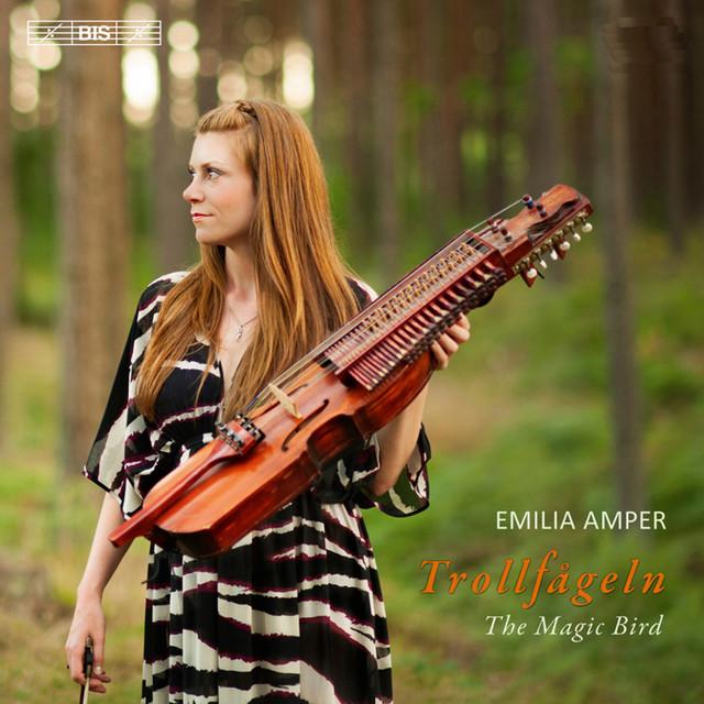 Skivomslag för Emilia Amper: Trollfågeln