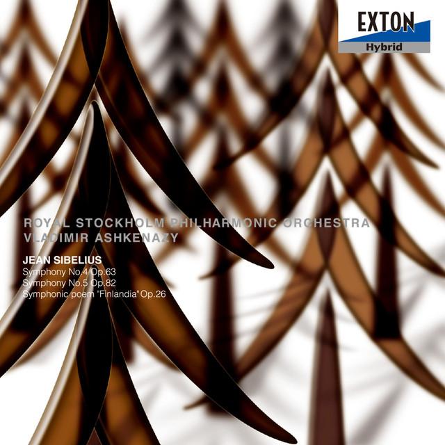 Sibelius: Symphonies No. 4, No. 5, Finlandia Albumcover