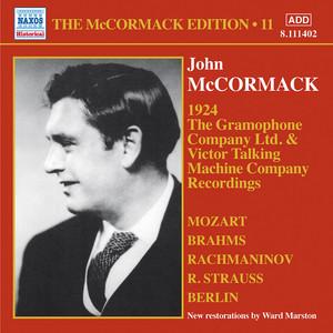 John McCormack: The Gramophone Company Ltd. & Victor Talking Machine Company Recordings album
