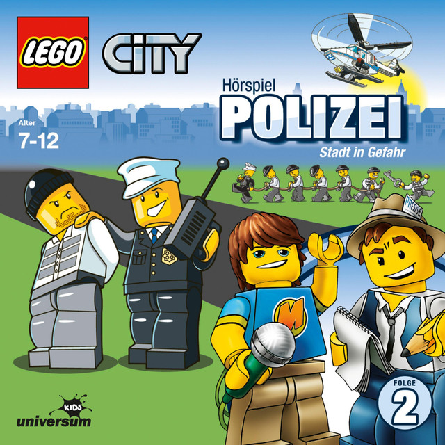 Folge 2: Lego City - Polizei - Stadt in Gefahr Cover