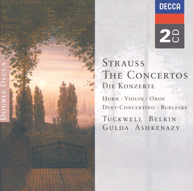 Strauss, R./Strauss, F.: The Concertos Albumcover
